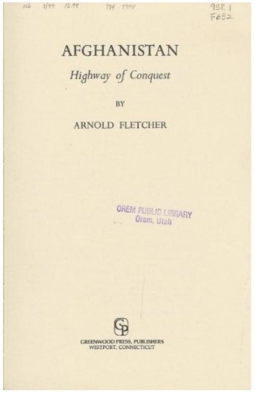 Обложка книги А.Флетчера 1982 года издания