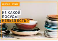 Тот, кто ест из такой посуды, наполняет свой живот адским огнем...