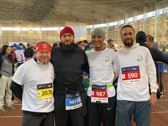 Представители ДУМ РТ пробежали Казанский марафон.