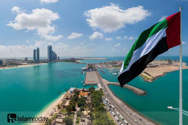 Линия напряжения в ОАЭ. (Источник фото: yandex.ru)