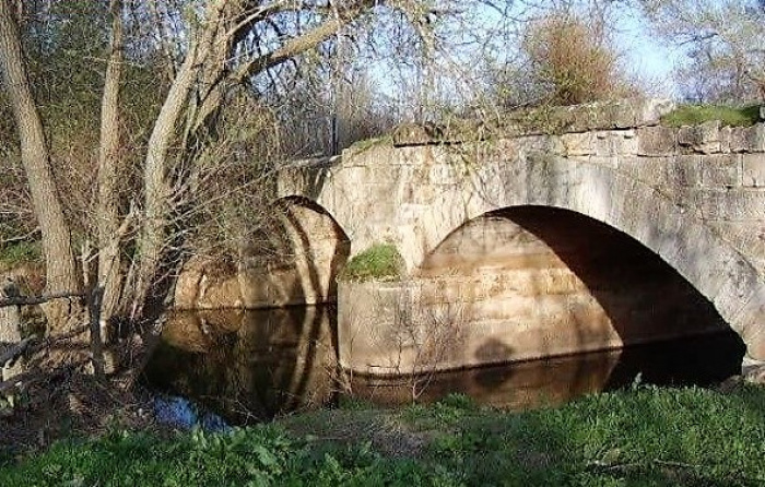 Знаменитый мост от которого происходит название деревни Эфенди Кёпрюсю - Мост Эфенди