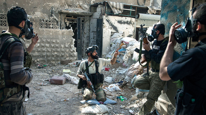 Сирийские боевики погибли при подготовке провокации с химоружием.