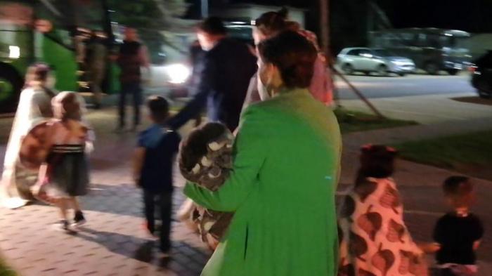 Еще один борт с российскими детьми прибыл из Сирии.