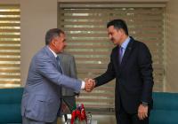 Минниханов встретился с министром сельского и лесного хозяйства Турции