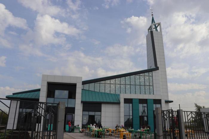 Необычная мечеть открылась в Челнах.