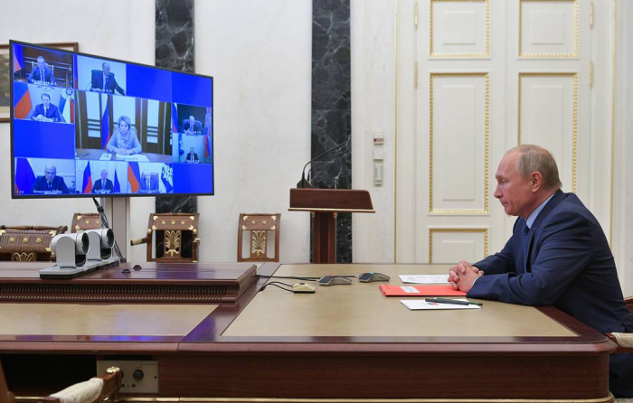 Президент РФ провел заседание Совбеза.