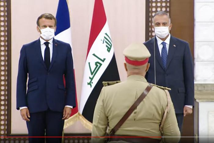 Макрон пообещал продолжать борьбу с ИГИЛ в Ираке.
