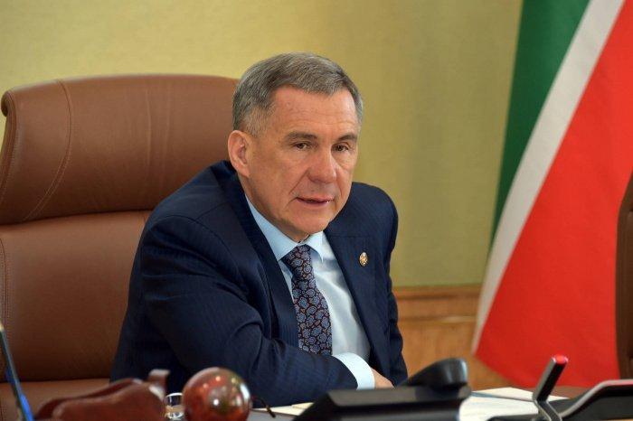 Президент РТ поприветствовал участников Дубайского инвестфорума.