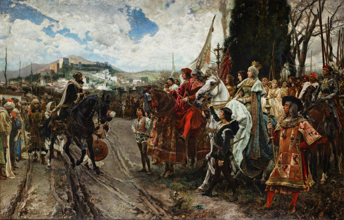 Падение Гранады. Франсиско Прадилья, 1882 год