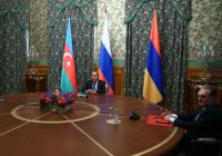 Лавров встретился с главами МИД Азербайджана и Армении