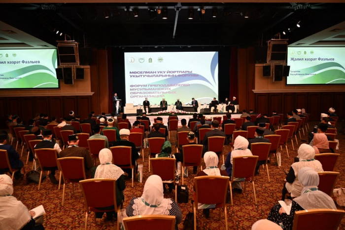 Преподаватели мусульманских образовательных учреждений собрались в Казани.