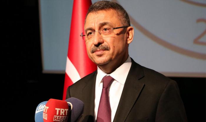 Фуат Октай заявил о готовности Турции отправить войска в Карабах.