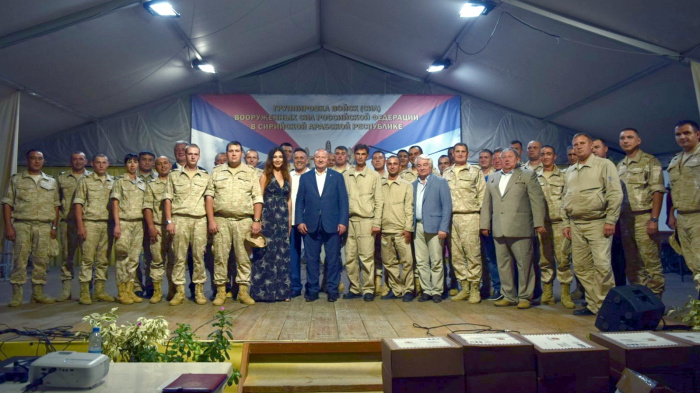 Полпред РТ в РФ посетил авиабазу Хмеймим.