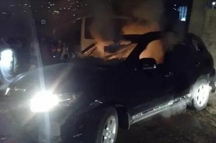 Автомобиль, в котором погиб муфтий Дамаска.