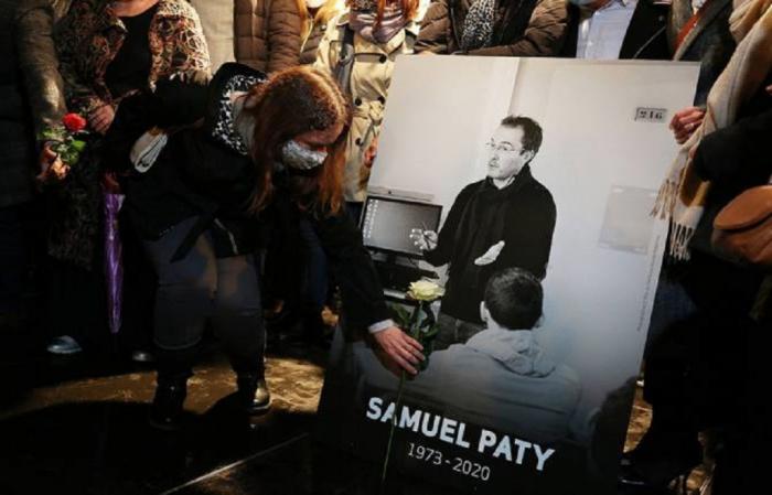 Самюэль Пати был убит 16 октября.