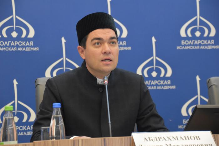 ректор Болгарской исламской академии Данияр Абдрахманов