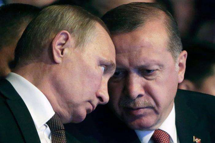Лидеры России и Турции обсудили взаимодействие по разрешению конфликтов.