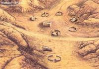 Воссоздано изображение Мекки в момент основания Каабы пророком Ибрахимом (а.с.)
