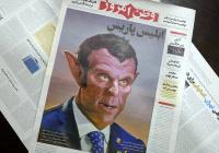 Иранская газета изобразила Макрона в образе дьявола