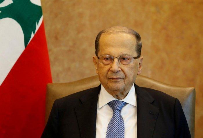 Президент Ливана Мишель Аун.