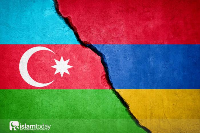 Конфликт между Арменией и Азербайджаном. (источник фото: yandex.ru)