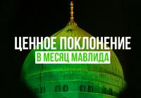 Ценное поклонение в месяц мавлида