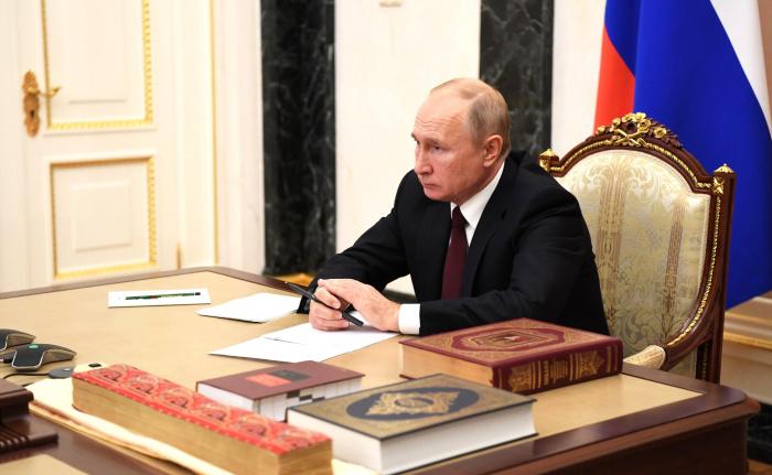 Президент РФ встретился с представителями религиозных объединений.