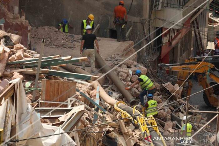 В Бейруте продолжается ликвидация последствий взрыва в порту.