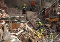 В Бейруте обрушилось жилое здание, пострадавшее от взрыва в порту
