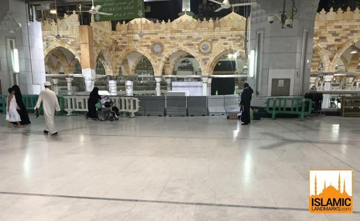 Место в Запретной мечети, где планировали убить Пророка Мухаммада ﷺ