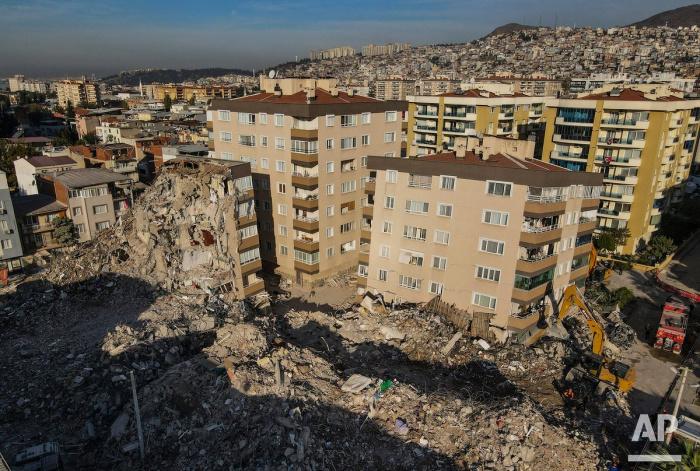 Мощное землетрясение произошло на западе Турции 30 октября.
