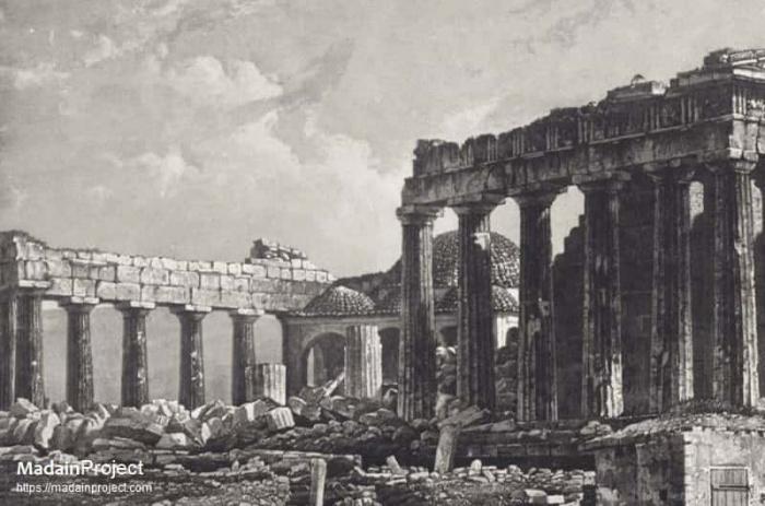 Времена, когда знаменитый Парфенон был мечетью...
