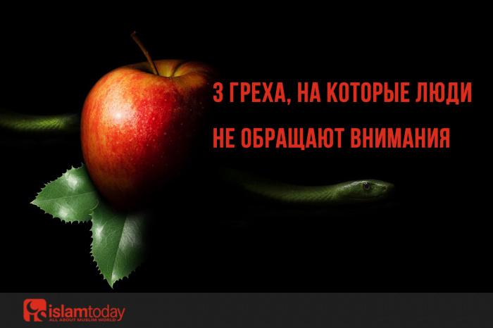 3 греха, о которых знают не все, но совершают многие. (Источник фото: pixabay.com)