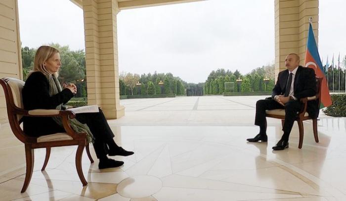 Ильхам Алиев дал интервью британскому BBC News.