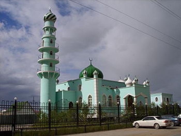 Мечеть в Якутии