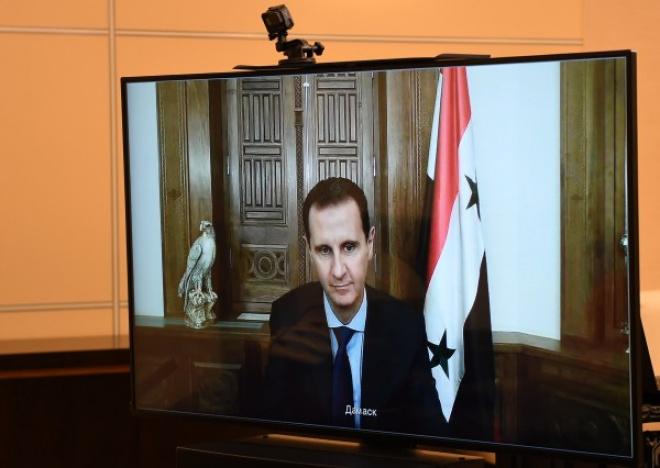 Асад поблагодарил Россию за помощь в организации Международной конференции по беженцам.