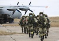 Российские миротворцы вылетели в Карабах