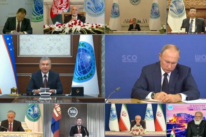 Заседание Совета глав государств - членов ШОС прошло в онлайн-формате.