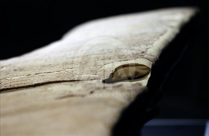 Уникальные фото: одежда пророка Мухаммада (ﷺ), которая была на нем в ночь Мирадж