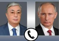 Путин обсудил Карабах с президентом Казахстана