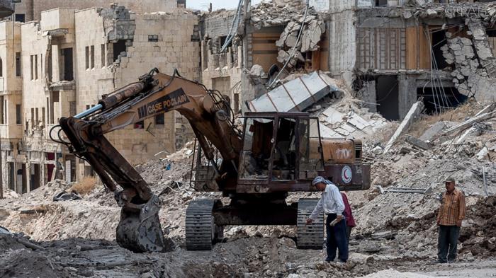 Россия поможет Сирии восстановить разрушенные войной города.