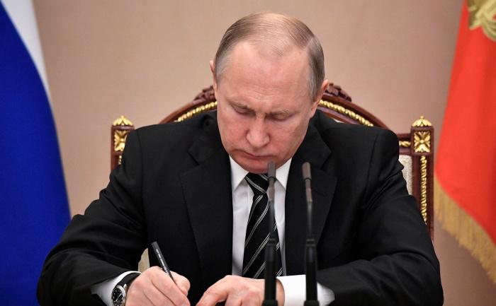 Опубликован текст указа президента России по Карабаху.