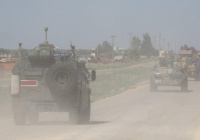 Взрывное устройство сработало на пути российской военной полиции в Сирии