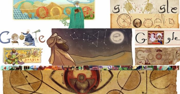 Топ-10 мусульман, популярных в Google Doodle. (Источники фотографий: 1001inventions.com)