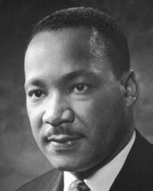 Мартин Лютер Кинг (1929-1968) лидер движения за гражданские права чернокожих в США