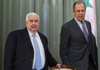Лавров выразил соболезнования в связи с кончиной главы МИД Сирии