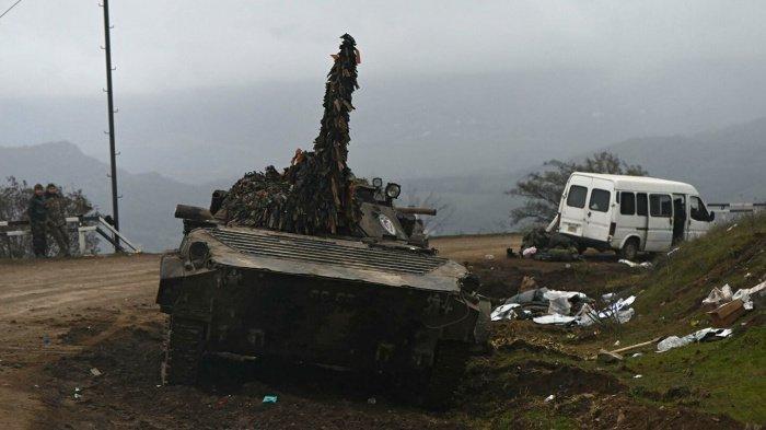 Боевые действия в Карабахе проекращены.