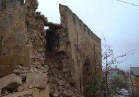 Дожди разрушили часть памятника ЮНЕСКО в Дагестане