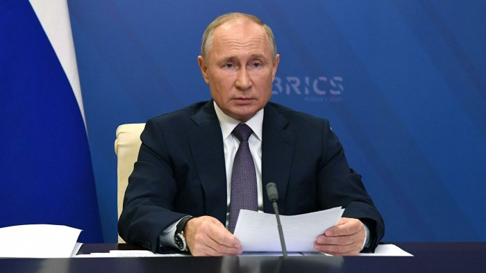 Владимир Путин начал саммит БРИКС.