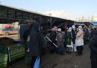 В Казани из-за «бомбы» эвакуировали Московский рынок